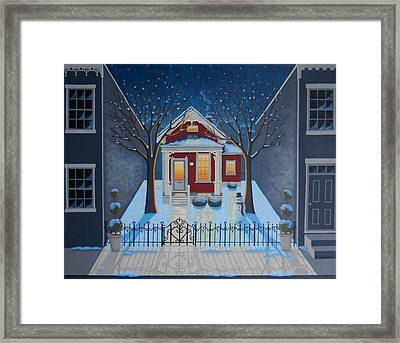 Haven Framed Print by Mary Charles