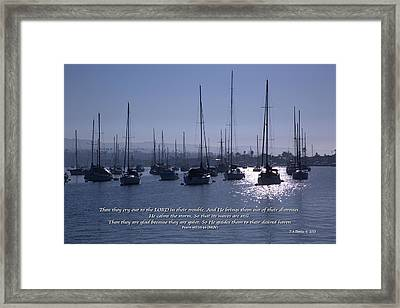 Haven Framed Print by Timothy Davies