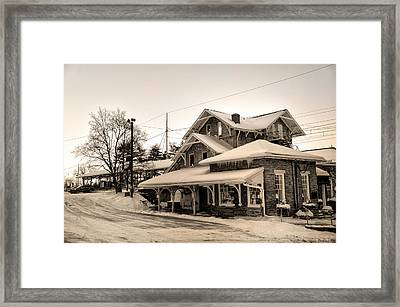 Haverford Station Framed Print by Bill Cannon