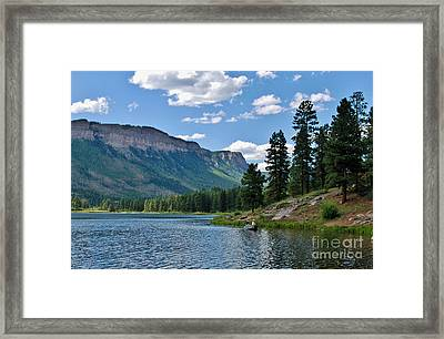Framed Print featuring the photograph Haviland Lake by Janice Rae Pariza