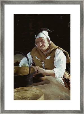 Having A Rest Framed Print by Ian Merton