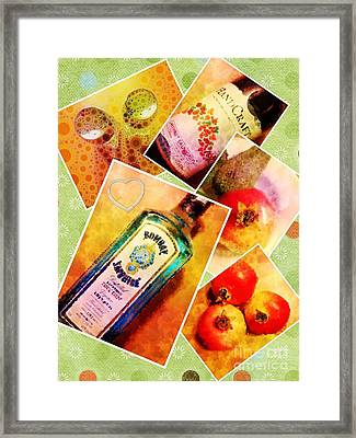 Having Nothing To Do In The Hotel Room Series. Framed Print by Mary Machare