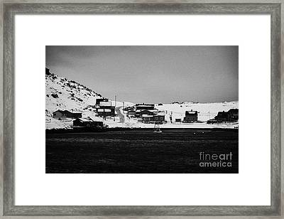 Havoysund Finnmark Norway Europe Framed Print by Joe Fox