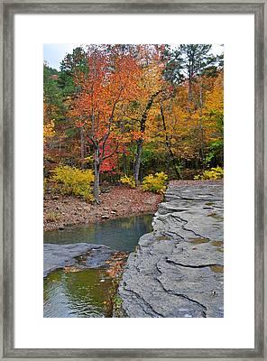 Haw Creek Fall 2 Framed Print by Marty Koch