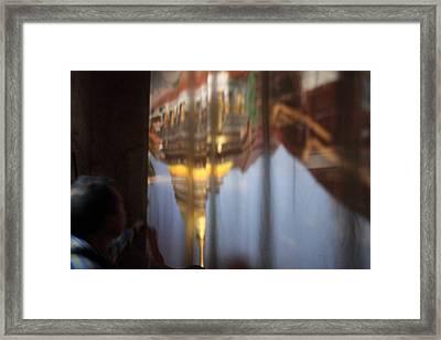 Haw Phra Phuttabhat Chamber - Wat Phra That Lampang Luang - Lampang Thailand - 01131 Framed Print by DC Photographer