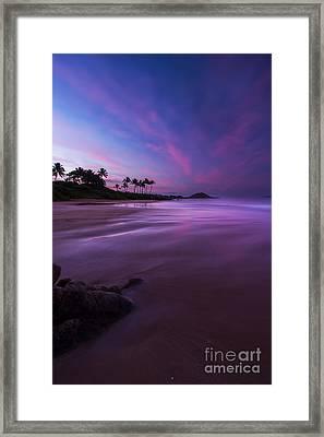 Hawaii First Light Sunrise Framed Print