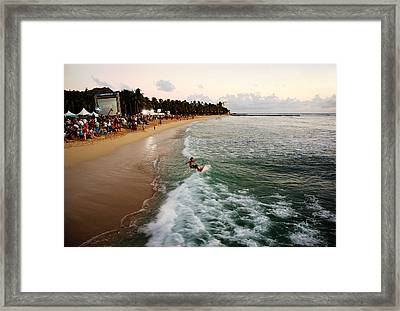 Hawaii Five O Premiere Star Framed Print by Kevin Smith