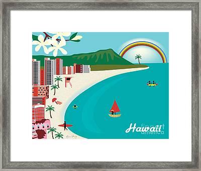 Hawaii Framed Print by Karen Young