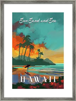 Hawaii Framed Print by P.s