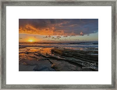 Hawaii Sunrise Framed Print by Ning Mosberger-Tang