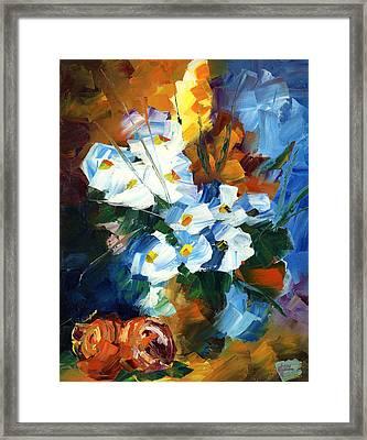 Hawaiian Bouquet Framed Print by Ash Hussein