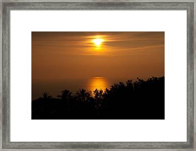 Hawaiian Dream Framed Print by Sabine Edrissi