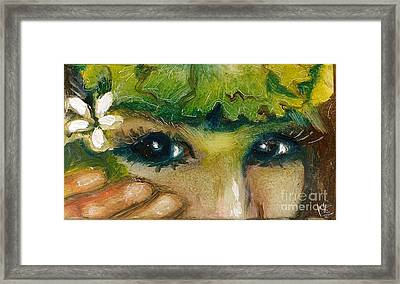 Hawaiian Eyes Framed Print