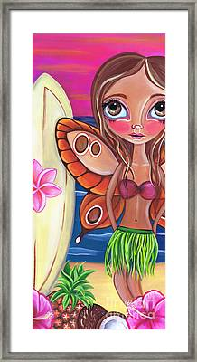 Hawaiian Fairy Framed Print