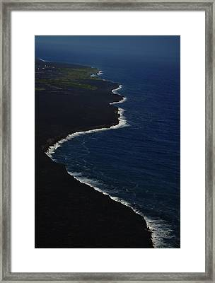 Hawaiian Goddess Meets The Sea Framed Print by Tara Miller