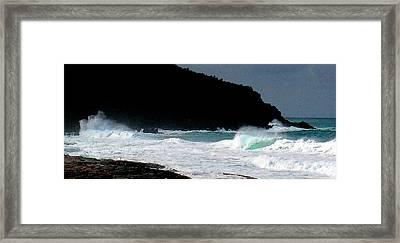 Hawaiian Heiau Framed Print by James Temple