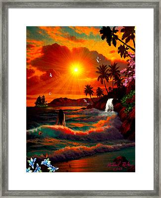 Hawaiian Islands Framed Print