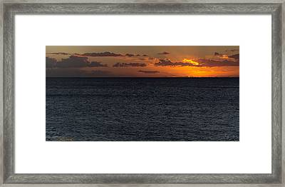 Framed Print featuring the photograph Hawaiian Nights  by Heidi Smith