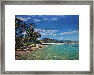 Hawaiian Paradise Framed Print by Richard Nowak