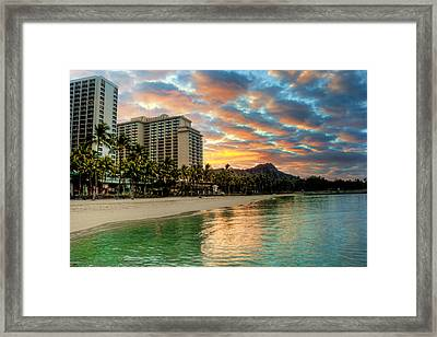 Hawaiian Sunrise Framed Print