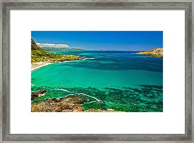 Hawaiian Water Framed Print by Michael Misciagno