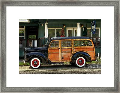 Hawaiian Woody Framed Print