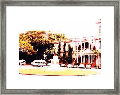 Hawiian Tourist Home Framed Print by Joan Shortridge
