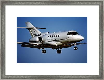 Hawker 800xp Framed Print by James David Phenicie