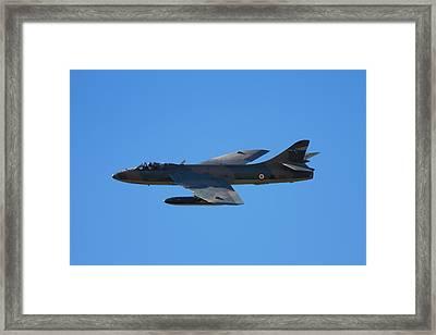 Hawker Hunter Jet Fighter Framed Print