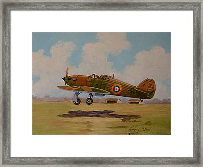 Hawker Hurricane Framed Print