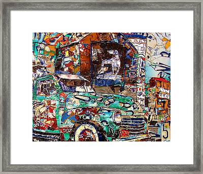 Hawkins Mill Adv Bird Dog Back In The Day Framed Print by Phil Jackson