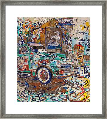 Hawkins Mill Truck Route 66 Springfield Framed Print by Phil Jackson