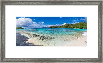 Hawksnest Beach, St. John, Us Virgin Framed Print by Panoramic Images