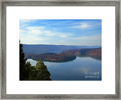 Hawn's Overlook Framed Print
