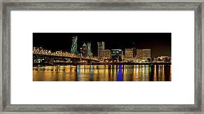 Hawthorne Bridge 2 Framed Print