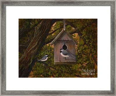 Hawthorne House Framed Print