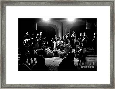Hay Dance Framed Print