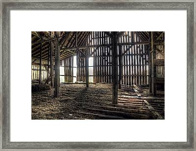 Hay Loft 2 Framed Print by Scott Norris