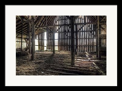 Old Wood Building Framed Prints