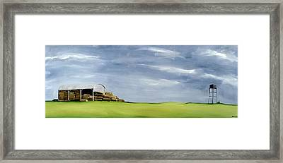 Haybarn Dreaming Framed Print by Ana Bianchi