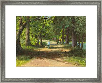 Hayden Shaded Path Framed Print