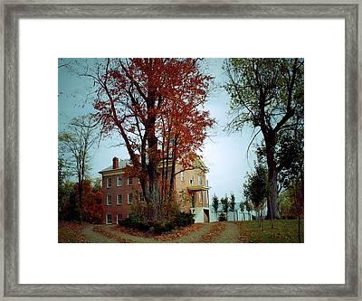 Hayesville Academy Vermillion Institute Framed Print