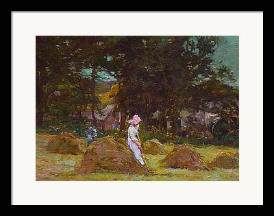 The Agricultural Life Framed Prints