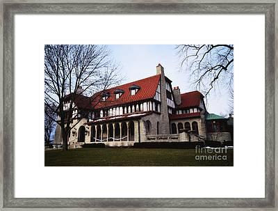 Hayner Cultural Center  Framed Print by Rachel Barrett