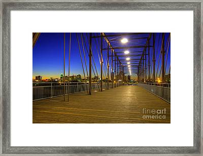 Hays Street Bridge Framed Print