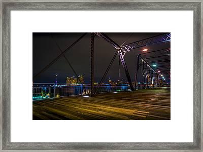 Hays Street Bridge Framed Print