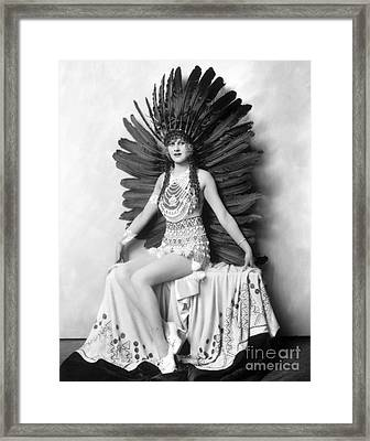 Hazel Forbes Framed Print by MMG Archives