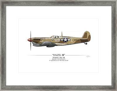 Hazel IIi Spitfire Mkv Framed Print by Craig Tinder