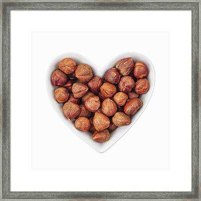 Hazelnuts Framed Print