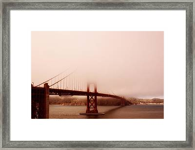 Hazy Days Framed Print by Chad Tracy